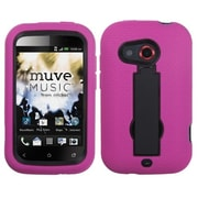 Insten® Symbiosis Stand Protector Cover For HTC Desire C, Black/Hot-Pink
