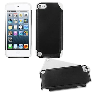 Insten® Fusion Hybrid Cover For iPod Touch 5th Gen, Black/White