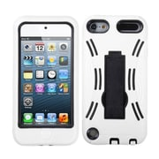 Insten® Symbiosis Stand Protector Cover For iPod Touch 5th Gen, Black/White