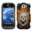 Insten® Protector Case For HTC myTouch 4G Slide, Blaze Skull