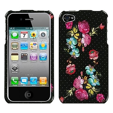 Insten® Phone Protector Cover F/iPhone 4/4S, Blooming Flowers