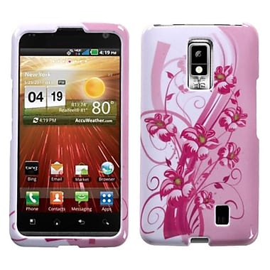 Insten® Protector Case For LG VS920 Spectrum, Blooming Lily