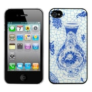 Insten® Back Protector Cover F/iPhone 4/4S, T Blue and White Porcelain Bottle Dream