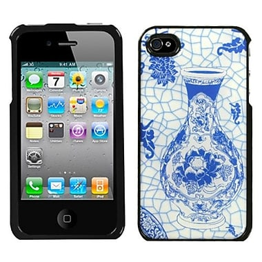 Insten® Dream Protector Cover F/iPhone 4/4S, Blue and White Porcelain Bottle