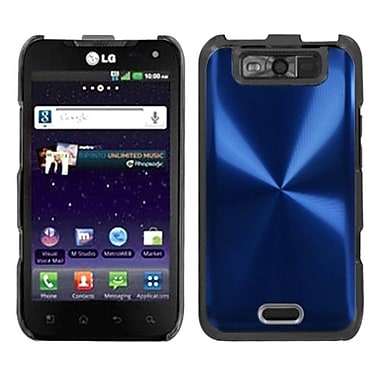 Insten® Back Protector Case For LG MS840 Connect 4G/LS840 Viper, Blue Cosmo