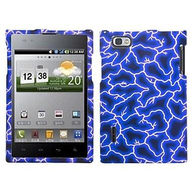 Insten® Protector Case For LG VS950/VS950, Blue Lightning