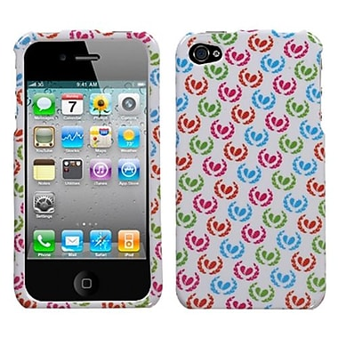 Insten® Phone Protector Cover F/iPhone 4/4S, Broken Hearts