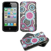 Insten® Diamante Fusion Faceplate Case F/iPhone 4/4/4SG, Bubble