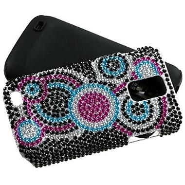 Insten® Diamante Faceplate Case For Samsung T989 Galaxy S2 T-Mobile, Bubble Fusion