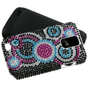 Insten® Diamante Faceplate Case For Samsung T989 Galaxy S2 T-Mobile, Bubble Fusion