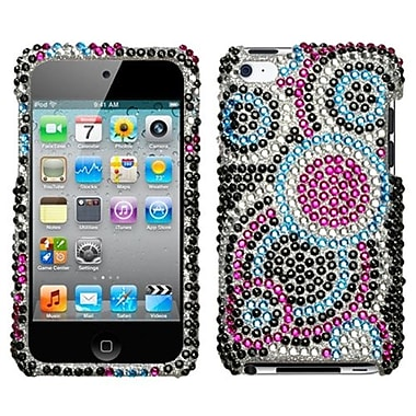 Insten® Diamante Protector Cover For iPod Touch 4th Gen, Bubble