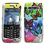 Insten® Phone Protector Cover For BlackBerry 9100, Butterfly