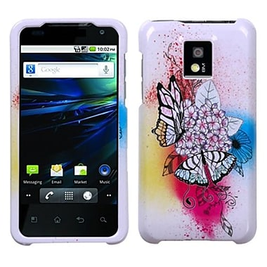 Insten® Protector Case For LG P999 G2X, Butterfly Paradise