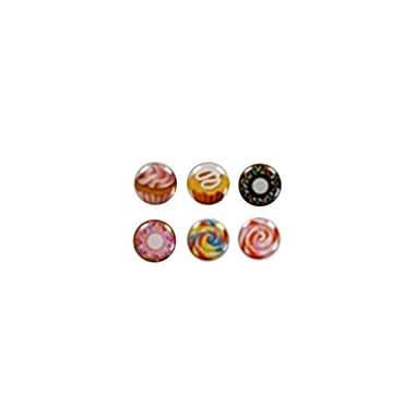 Insten® Button Stickers-Set 005 For iPod Touch/iPhone/iPad