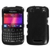 Insten® Phone Faceplate Case For RIM BlackBerry 9350, Carbon Fiber