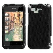 Insten® Faceplate Case For HTC ADR6330 Rhyme, Carbon Fiber