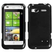 Insten® Protector Case For HTC Radar 4G, Carbon Fiber