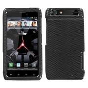 Insten® Protector Case For Motorola XT912 Droid RAZR, Carbon Fiber