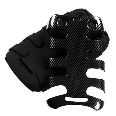 Insten® Fishbone Phone Protector Cover For BlackBerry 9360/9350/9370, Carbon Fiber/Black