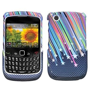 Insten® Phone Protector Case For RIM BlackBerry 8520/8530/9300/9330, Carbon Star