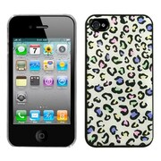 Insten® Back Protector Cover F/iPhone 4/4S, Colorful Leopard Dream