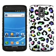 Insten® Fusion Faceplate Case For Samsung T989 Galaxy S2 T-Mobile, Colorful Leopard