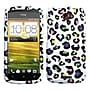 Insten® Protector Case For HTC-One S, Colorful Leopard