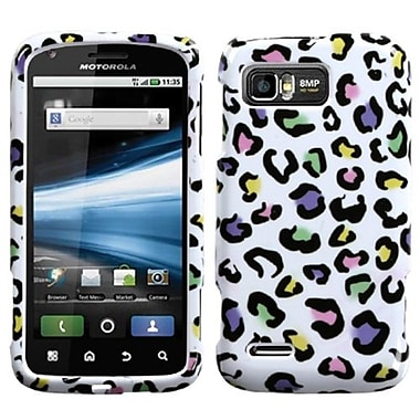 Insten® Protector Case For Motorola MB865 Atrix 2, Colorful Leopard