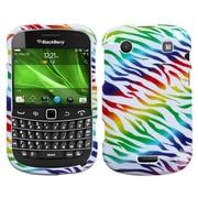 Insten® Phone Protector Case For RIM BlackBerry 9930/9900, Colorful Zebra