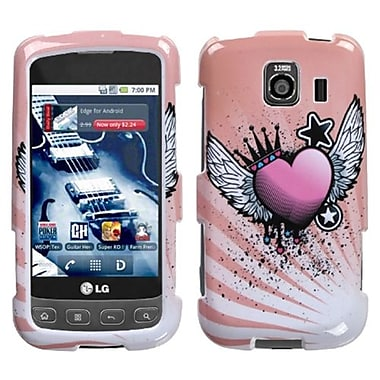 Insten® Protector Case For LG LS670/Optimus U/VM670, Crowned Heart