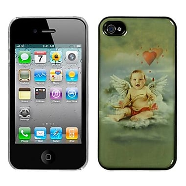 Insten® Back Protector Cover F/iPhone 4/4S, Cupid Dream