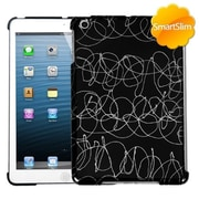 Insten® SmartSlim Back Protector Cover For iPad Mini/iPad Mini 2, D Lines Black