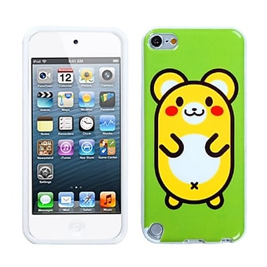 Insten® TPU Plastic Gummy Skin Phone Cover For iPod Touch 5th Gen, Cute Hamster