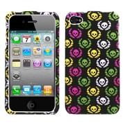 Insten® Phone Protector Cover F/iPhone 4/4S, Cute Skulls