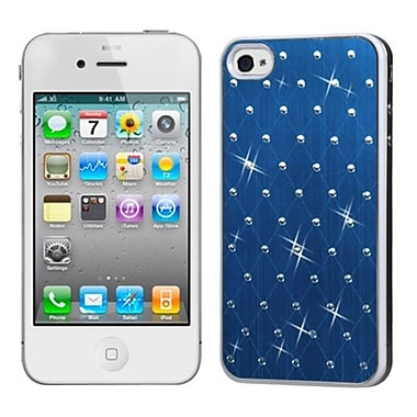 Insten® Studded Back Plate Covers W/White Sides F/iPhone 4/4S