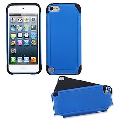 Insten® Fusion Hybrid Cover For iPod Touch 5th Gen, Dark Blue/ Black