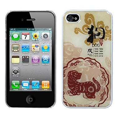 Insten® Chinese Zodiac Collection Dream Back Protector Cover F/iPhone 4/4S, Dog