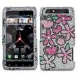 Insten® Diamante Protector Case For Motorola XT912 Droid RAZR, Fantastic Flowers