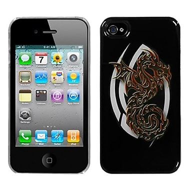 Insten® Back Protector Cover F/iPhone 4/4S, Firebrand Dragon Dream
