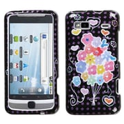 Insten® Protector Cover For HTC Vision/G2, Flower Balloon Sparkle