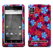 Insten® Protector Case For Motorola A955 Droid 2/R2D2 Droid, Flower Flake