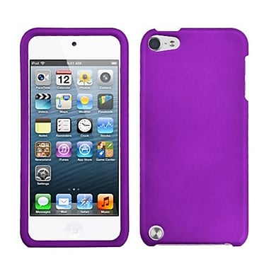 Insten® Rubberized Phone Protector Cover For iPod Touch 5th Gen, Grape