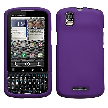 Insten® Protector Case For Motorola XT610 Droid Pro, Grape