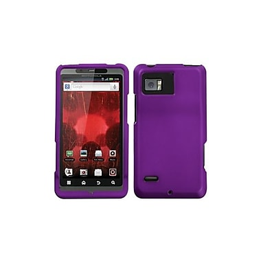Insten® Protector Case For Motorola XT875 Droid Bionic, Grape