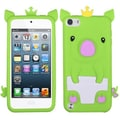 Insten® Crown Piggie Pastel Skin Covers For iPod Touch 5th Gen