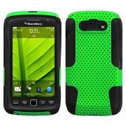Insten® Astronoot Phone Protector Case For RIM BlackBerry 9850/9860, Green/Black