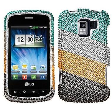 Insten® Diamante Protector Covers For LG VS700/VM701/LS700
