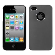 Insten® Cosmo Protector Cover W/Package For iPhone 4/4S, Gray