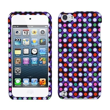 Insten® Phone Protector Case For iPod Touch 5th Gen, Grid Dots