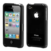 Insten® Chrome Coating Metal Surround Shield Protector Cover F/iPhone 4/4S, Gunmetal